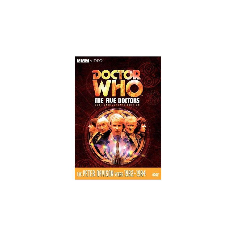 Dr Who The Five Doctors Dvd