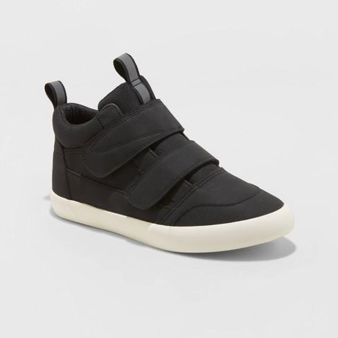 Boys' Jerrid Sneakers - Cat & Jack™ Black - image 1 of 3