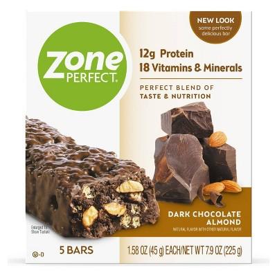 ZonePerfect Protein Bar Dark Chocolate Almond - 5 ct/7.9oz
