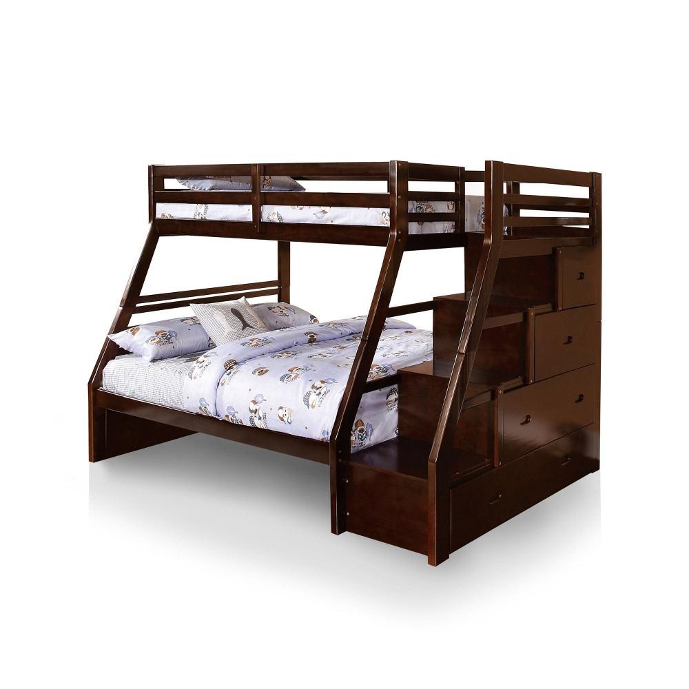 Image of Anton Kids Bunk Bed Espresso - ioHOMES