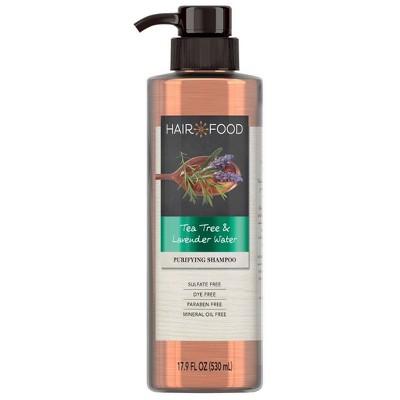 Hair Food Tea Tree & Lavender Sulfate Free Shampoo - 17.9 fl oz