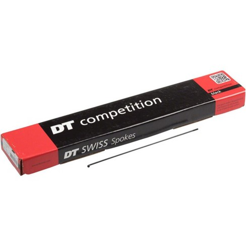 DT Swiss Competition 2.0//1.8 288mm Silver Spokes Box of 100