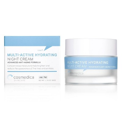 Cosmedica Skincare Multi-Active Hydrating Night Cream - 1.76oz