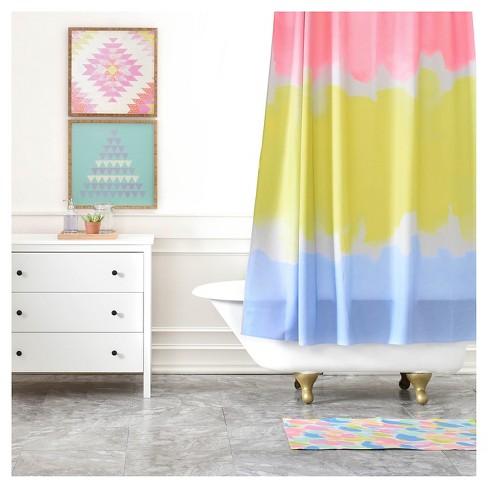 Rebecca Allen Night Atlas Shower Curtains