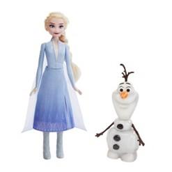 Disney Frozen 2 Talk and Glow Olaf and Elsa Dolls