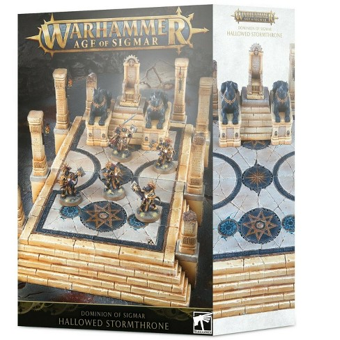 Warhammer Age of Sigmar Dominion of Sigmar Hallowed Stormthrone - image 1 of 1