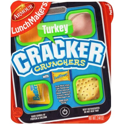 Armour LunchMakers Turkey Cracker Crunchers - 2.44oz