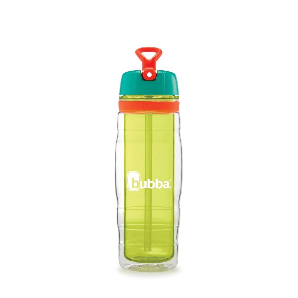 Image of Bubba 16oz Plastic Kids Raptor Water Bottle Yellow