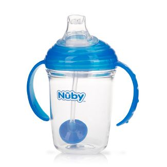 Nuby Tritan Weighted Straw Trainer Cup - Blue