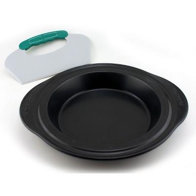 "BergHOFF Perfect Slice 11"" Steel Pie Pan with Tool"