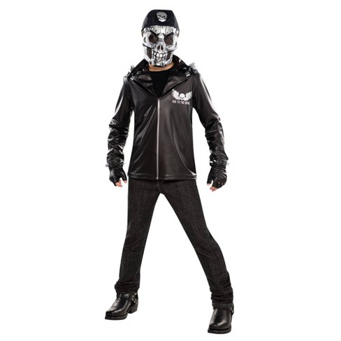 Boys' Bad To The Bone Halloween Costume  - image 1 of 1
