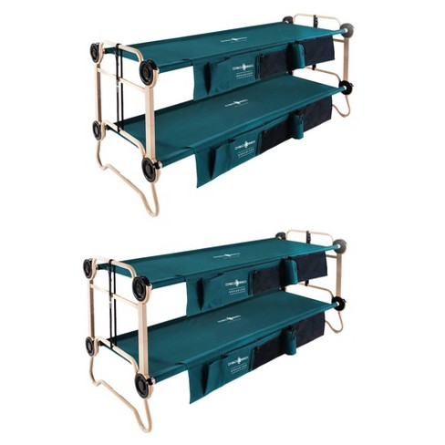 Disc-O-Bed Large Green Cam-O-Bunk Cot (2 Pack) - image 1 of 6