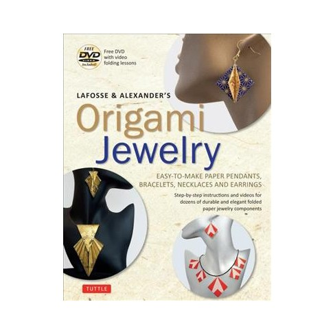 Lafosse Alexanders Origami Jewelry Easy To Make Paper Pendants