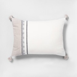 Ombré Stripe Throw Pillow - Hearth & Hand™ with Magnolia