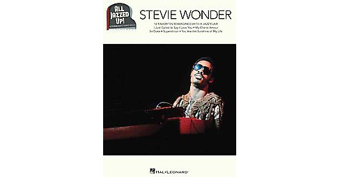Stevie Wonder : Intermediate Piano Solo (Paperback) - image 1 of 1