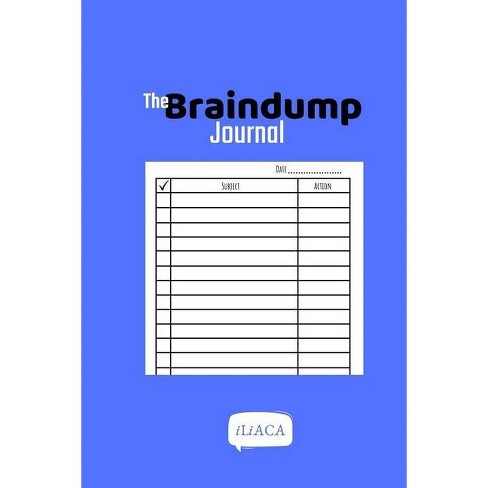 The Braindump Journal - by  Iliaca (Paperback) - image 1 of 1