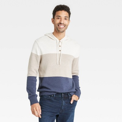 Men's Regular Fit Pullover Hoodie Sweater - Goodfellow & Co™