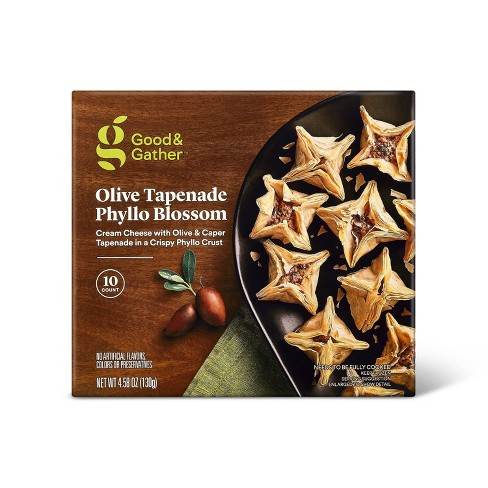 Frozen Olive Tapenade Phyllo Blossom - 4.58oz/10ct - Good & Gather™ - image 1 of 2