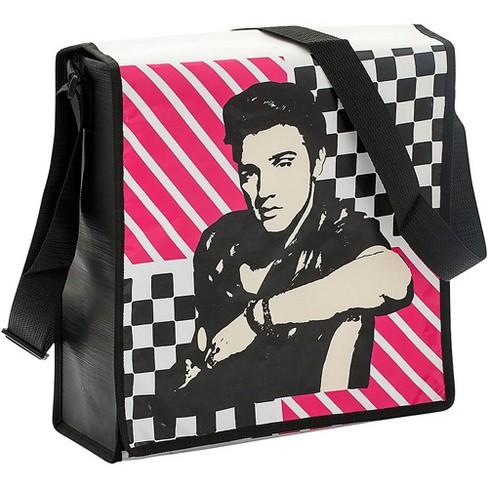 Vandor Elvis Presley Recycled Messenger Tote - image 1 of 1