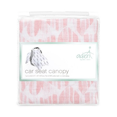 aden by aden + anais Car Seat Canopy - Briar Rose