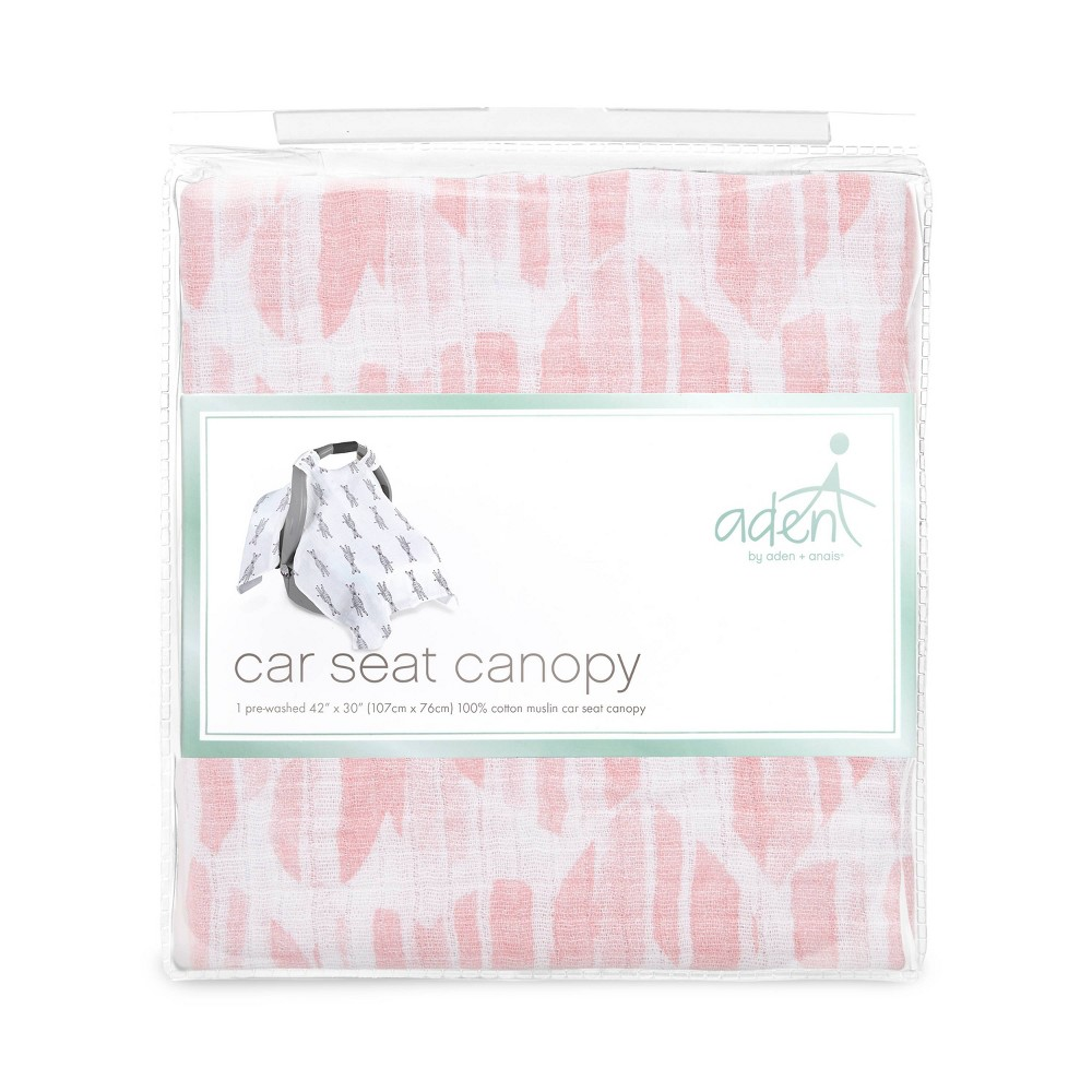 Image of aden by aden + anais Car Seat Canopy - Briar Rose, Briar Pink