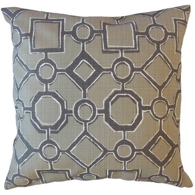 Wenda Geometric Throw Pillow - The Pillow Collection