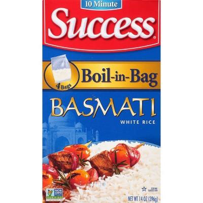 Success Boil-in-Bag Basmati Rice - 14oz/4pk