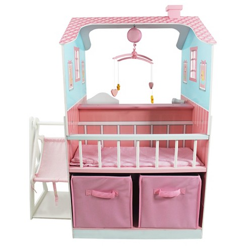 Olivia's Little World Classic Doll Changing Station - Pink - image 1 of 4