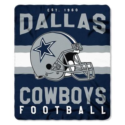 The Northwest Company Dallas Cowboys Fleece Throw , Blue