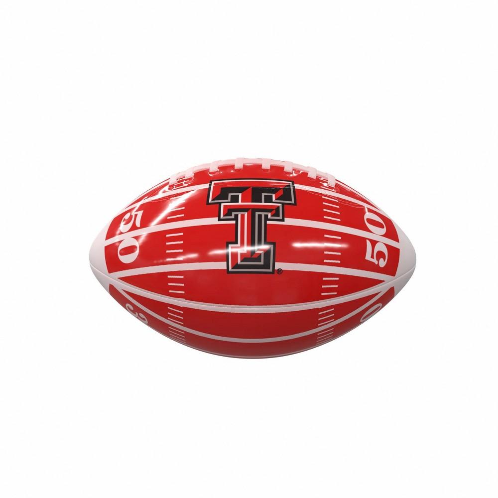 Ncaa Texas Tech Red Raiders Field Mini Size Glossy Football