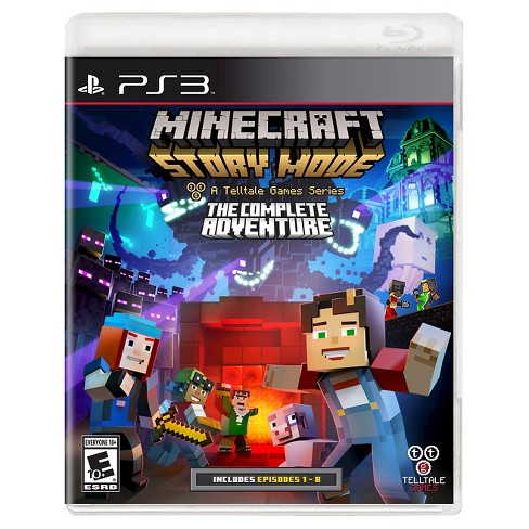 Minecraft: Story Mode The Complete Adventure PlayStation 3 - image 1 of 1