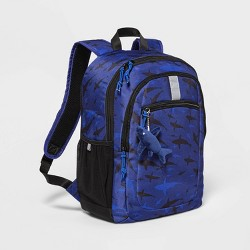 "17"" Kids' Backpack Blue Shark - Cat & Jack™"