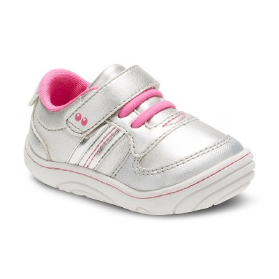 Toddler Girls' Surprize by Stride Rite Celine Sneakers - Silver 2