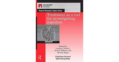 Treatment As a Tool for Investigating Cognition (Hardcover) - image 1 of 1
