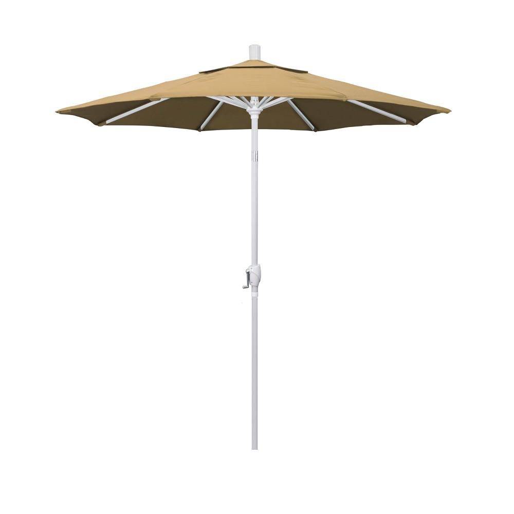 7.5' Aluminum Push Tilt Patio Umbrella - Champagne (Beige)