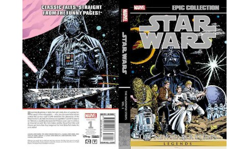 Epic Collection Star Wars Legends The Newspaper Strips 1 (Paperback) (Russ Manning & Steve Gerber & Russ - image 1 of 1