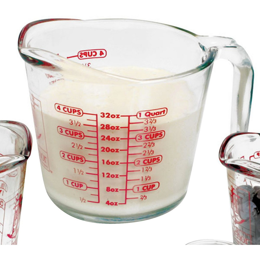 Image of Anchor Hocking 32oz Measuring Cup, Medium Clear