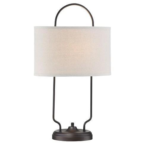 Baldwin Table Lamp Dark Bronze