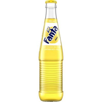 Fanta Pineapple de Mexico Soda - 12 fl oz Glass Bottle