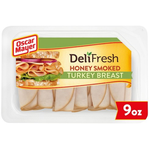 Oscar Mayer Deli Fresh Honey Smoked Turkey Breast - 9oz - image 1 of 4