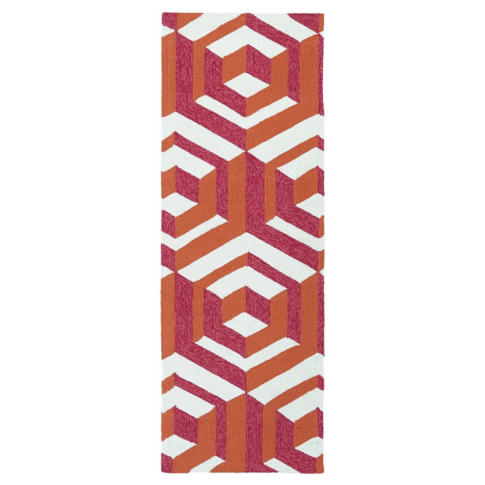 Rugs 2'X6' Kaleen Rugs, Multi-Colored