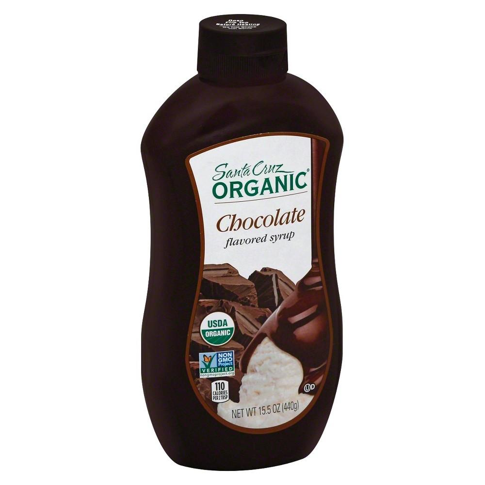Santa Cruz Organic Chocolate Syrup - 15.5 oz
