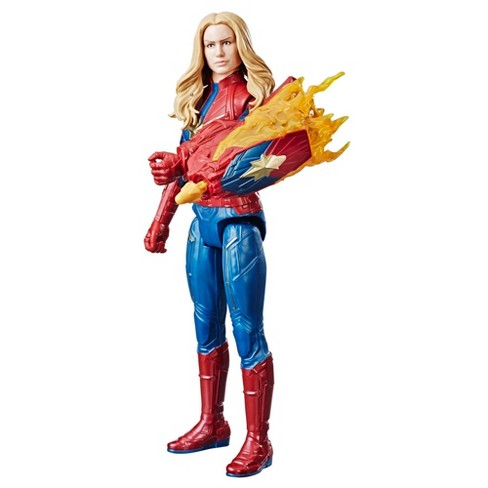 Marvel Avengers: Endgame Titan Hero Series Captain Marvel Action Figure - image 1 of 14