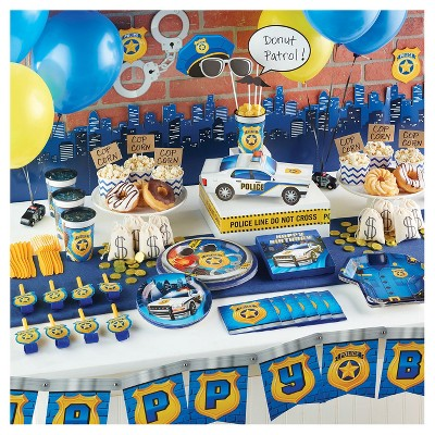 Police Birthday Party Supplies Collection Target
