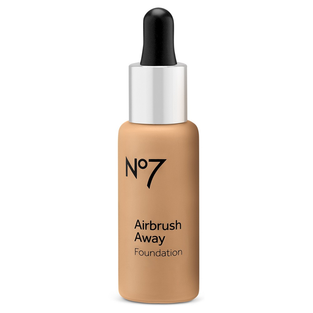 No7 Airbrush Away Foundation Latte - 1 fl oz