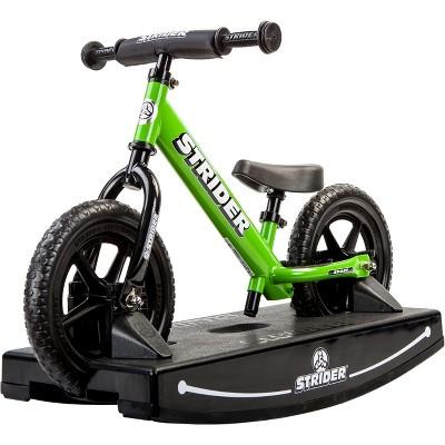 Strider 12 Sport Baby Bundle No Pedal Balance Bike - Green