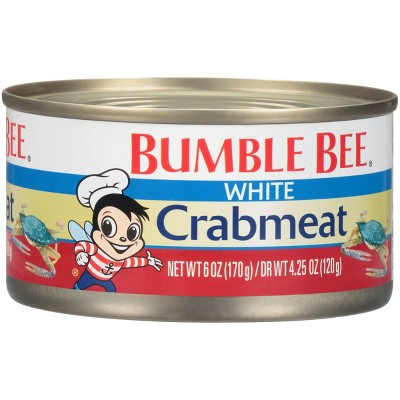 Bumble Bee White Crab Meat - 6oz