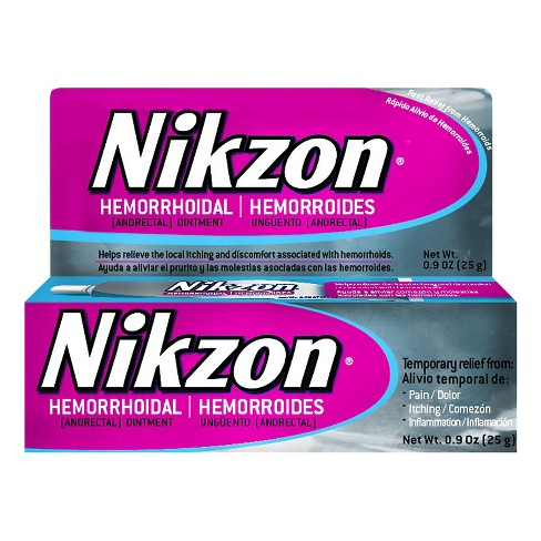 Nikzon Hemorrhoidal Ointment .9oz - image 1 of 1