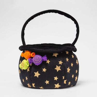 Plush Witch Cauldron Pail Halloween Trick or Treat Container - Hyde & EEK! Boutique™