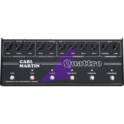 Carl Martin Quattro Analog Multi-Effect Pedal